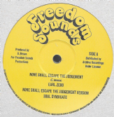 "Earl Zero - None Shall Escape The Judgement  (Freedom Sounds / Archive) 12"" COLOURED VINYL"